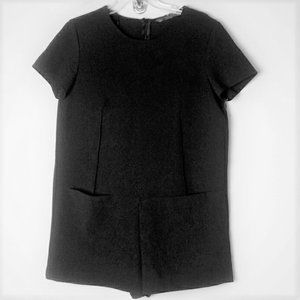 Zara size large Romper with pockets